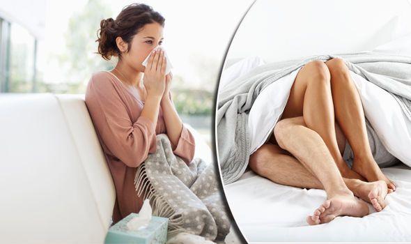 إصابة امرأة ب حساسية خطيرة بعد ممارسة الجنس ، فما السبب ؟