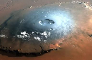 حجر نيزكي قديم هو دليلنا الكيميائي الأول للحِمل البركاني على المريخ - المريخ كوكب نشط جيولوجيًا وبركانيًا - الزبرجد هو مركب من سيليكات المغنيسيوم والحديد