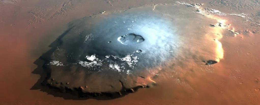 حجر نيزكي قديم هو دليلنا الكيميائي الأول للحمل البركاني على المريخ