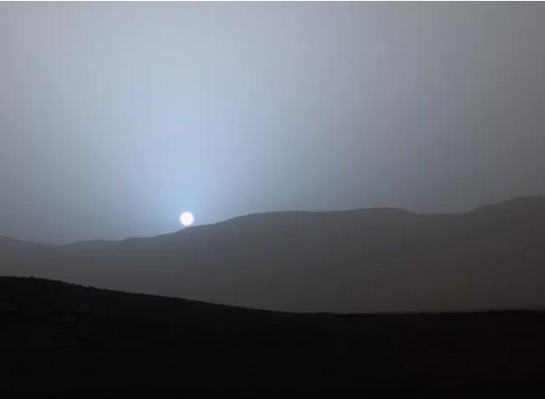 كيف يبدو منظر غروب الشمس في الكواكب الأخرى؟