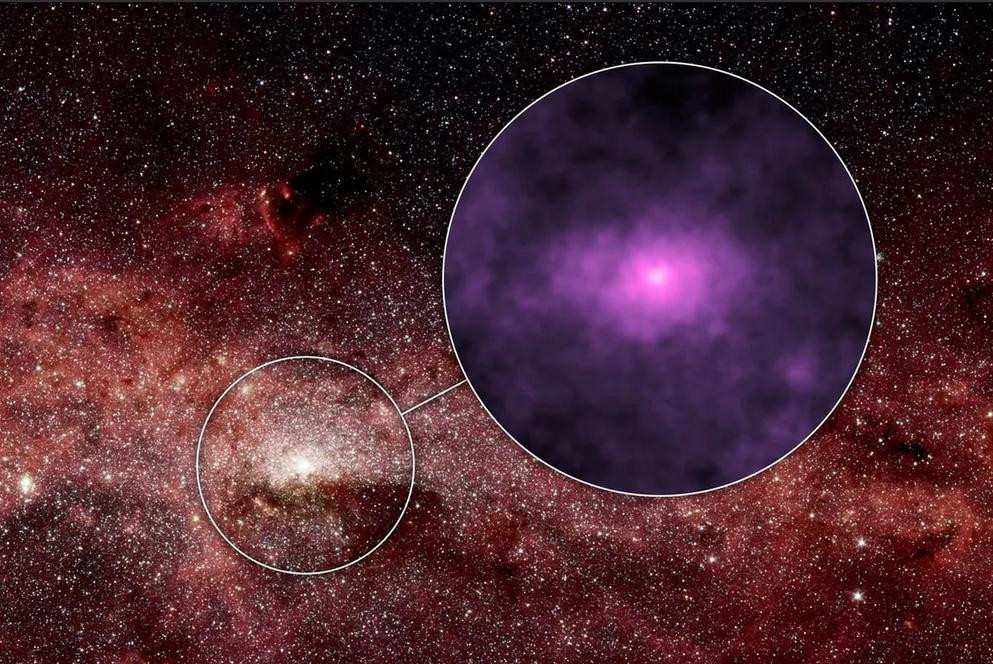 كيف يبدو شكل مركز مجرتنا؟