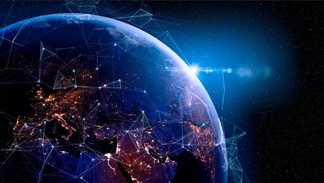نصف ذرات الكرة الأرضية قد تكون معلومات رقمية بحلول العام 2245م - البت الرقمي الذي تنتجه البشرية - تنامي المعلومات عبر الزمن
