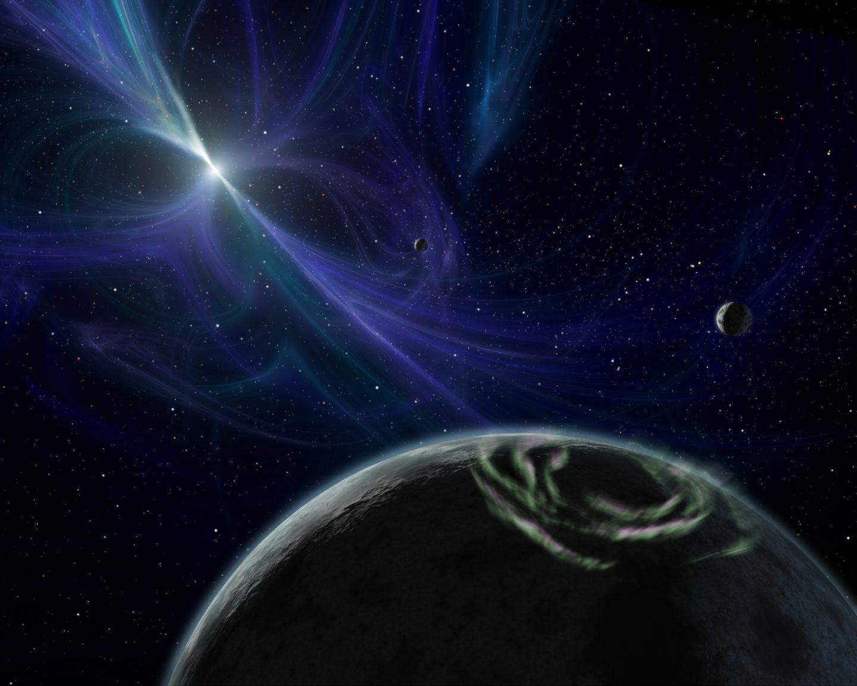 نظام النجم النابض يفسر المبدأ الأساسي للنسبية العامة بدقة