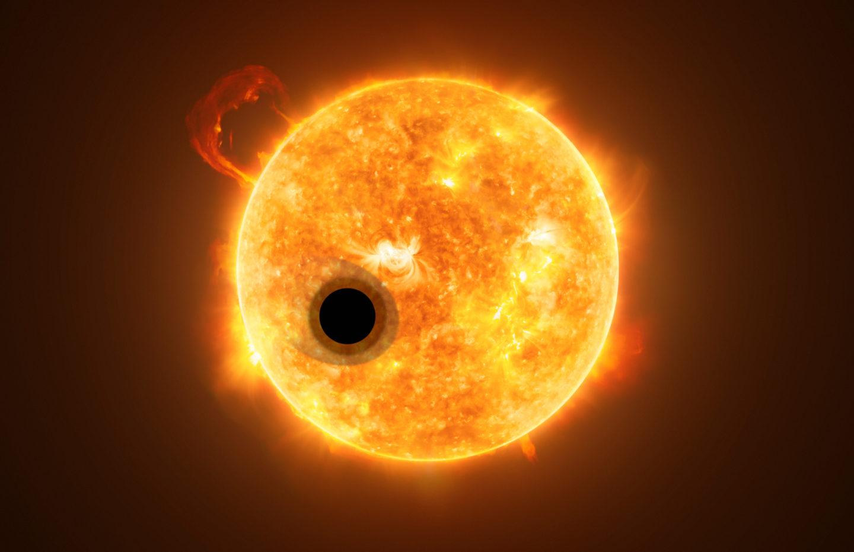 كوكب خارجي منتفخ قد يغير فهمنا لتكون الكواكب