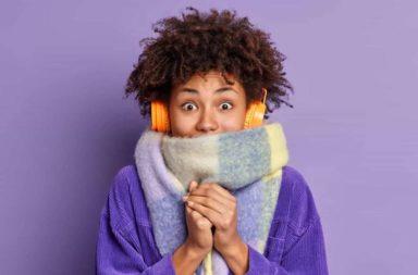 لمن يعانون البرد دائمًا.. كيف تدفئ نفسك؟ - لمن يعانون البرد دائمًا، جرّبوا الطرق التالية لتدفئة أنفسكم! - كيف تزيد من حرق السعرات الحرارية - تدفئة الجسم