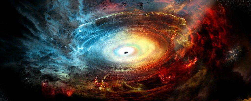 هذا ما يحدث عندما يبتلع ثقب أسود نجمًا