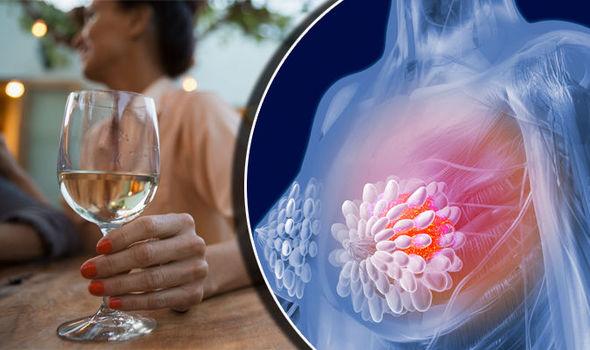 شرب الكحول وخطر الإصابة بسرطان الثدي