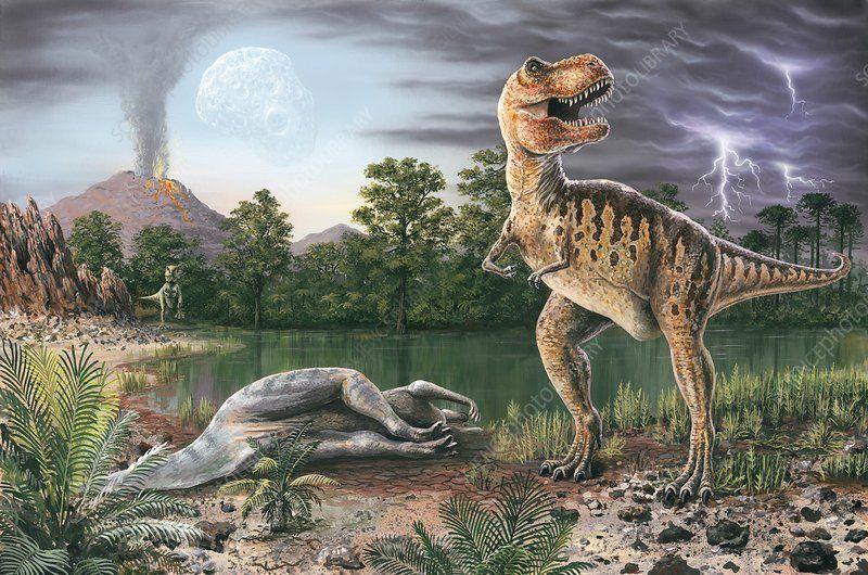 انقراض الديناصورات منذ 65 مليون سنة: كيف حدث وما هو سببه