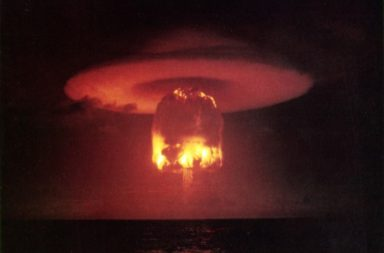 أكبر 12 اختبارًا نوويًا في التاريخ - أكبر الاختبارات النووية التي حصلت في التاريخ البشري - التجارب التي قام بها البشر لاختبار الأيلحة النووية