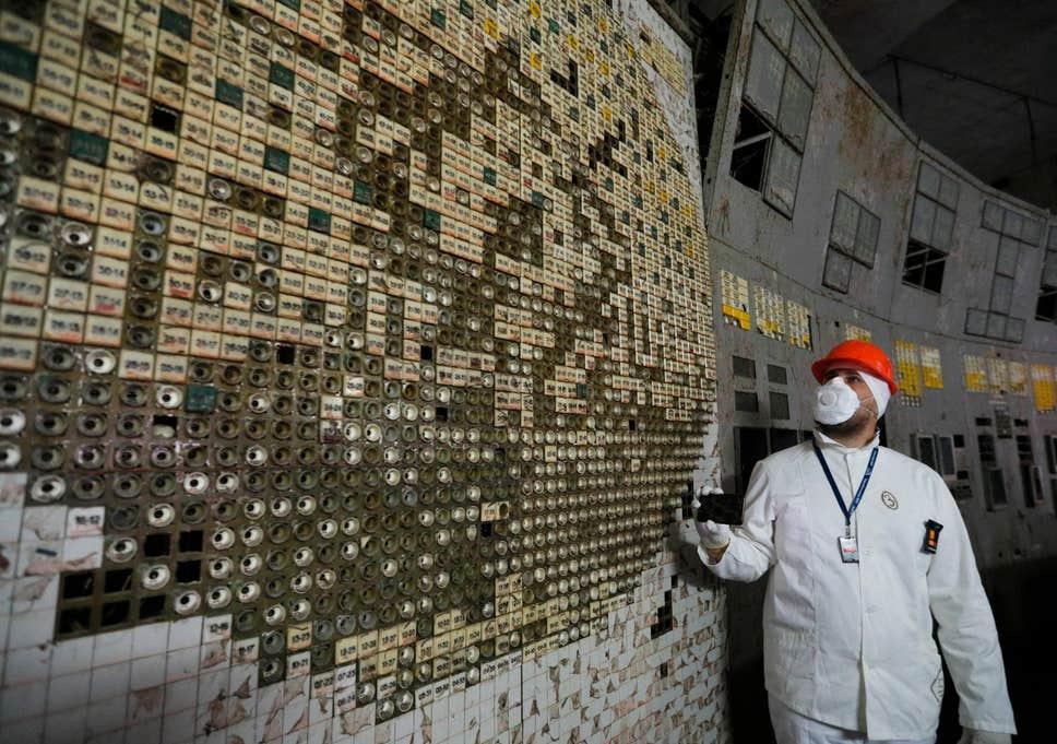 غرفة تحكم مفاعل تشيرنوبل أصبحت مفتوحة أمام الزوار