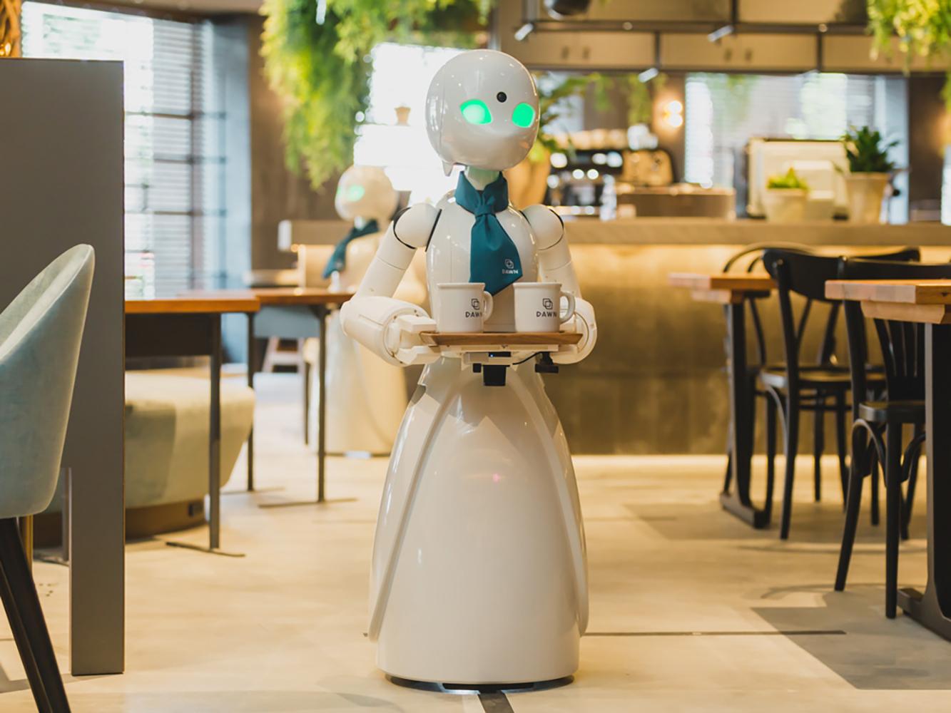 نُدل طوكيو الآلية تُقدم رؤية جديدة لدمج ذوي الاحتياجات الخاصة مهنيًا في المجتمع - ما الخدمات التي يقدمها مقهى داون لذوي الاحتياجات الخاصة