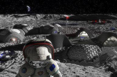 البشر على سطح القمر