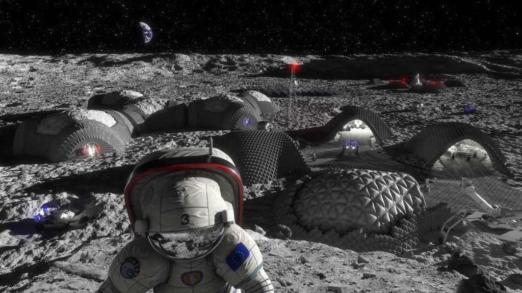 كم يستطيع القمر أن يستوعب من البشر ؟
