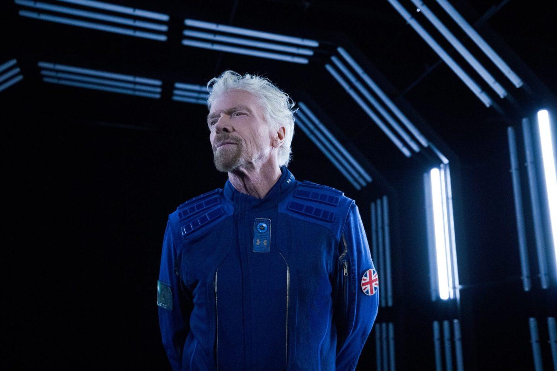 ريتشارد برانسون وفيرجن غالاكتيك على حدود الفضاء