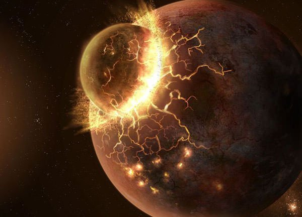 مفاجأة: الأرض والقمر ليسا مصنوعين من المواد الخام ذاتها! - نظرية الاصطدام العملاق التي تفسر نشوء القمر - الوشاح القمري العميق
