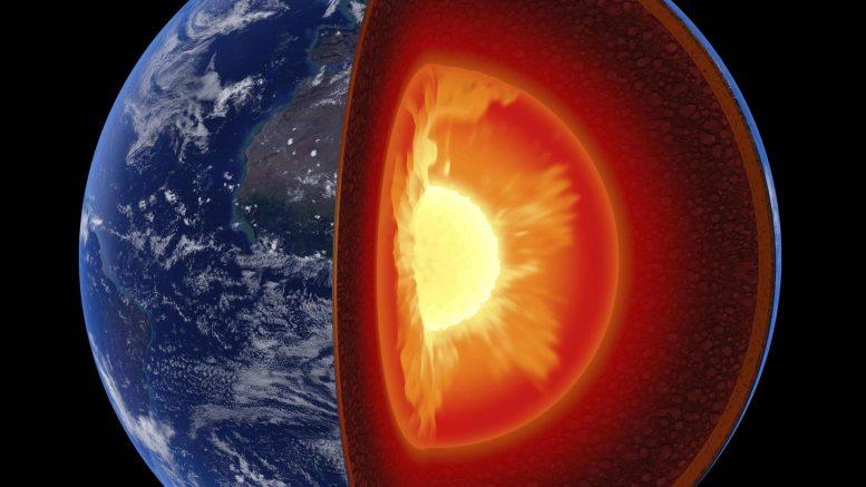 لماذا نواة الأرض حارّة جدًا؟