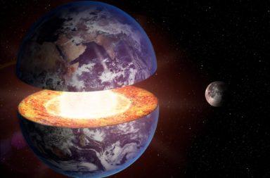 من المحتمل أن جسيمات من الرياح الشمسية قد علقت في لب الأرض في أثناء تكونه من الركام الفضائي - منشأ النيازك الحديدية - الغازات النبيلة