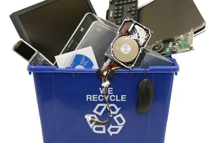 ما معنى تدوير النفايات الإلكترونية ؟