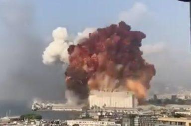 انفجار بيروت المأساوي كان عنيفًا لدرجة أنه أحدث اضطرابًا في الغلاف الجوي للأرض - أحد أكبر الانفجارات غير النووية المسجلة التي تسبب فيها البشر
