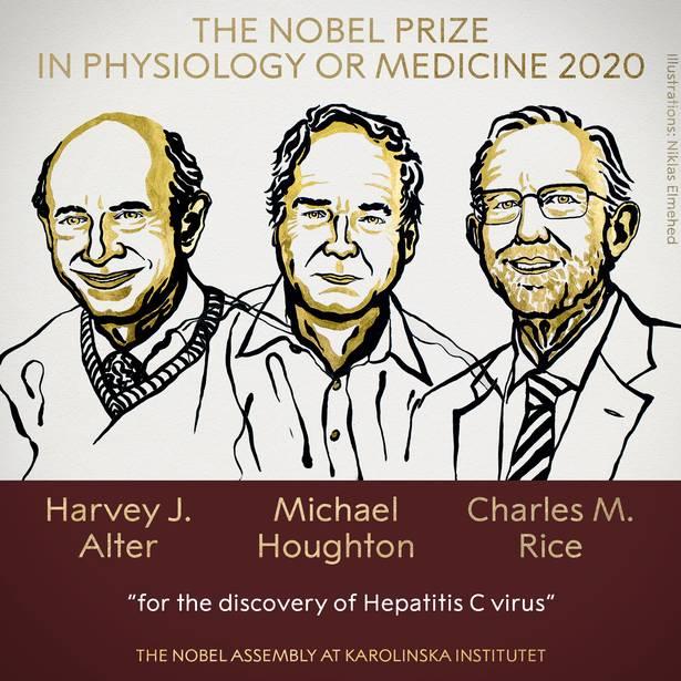 جائزة نوبل في الطب أو الفيزيولوجيا لعام 2020