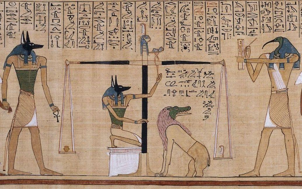 لوح لعبة قديم قد يكون الحلقة المفقودة في كتاب الموتى المصري