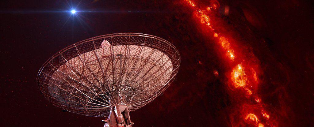 أتذكرون موجات الراديو التي رصدت مؤخرًا؟ إنها قادمة من الفضاء!