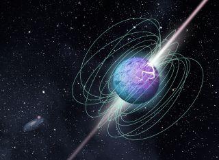 رصد انفجارات راديوية فائقة السرعة قد تمثل الحلقة المفقودة بين النجوم الراديوية والنجوم المغناطيسية