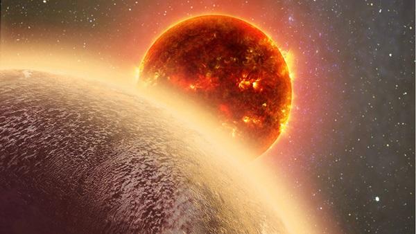 كوكب خارجي قريب ربما فقد غلافه الجوي ثم صنع واحدًا جديدًا! - كيف نجح هذا الكوكب في إصلاح غلافه الجوي بواسطة النشاط البركاني