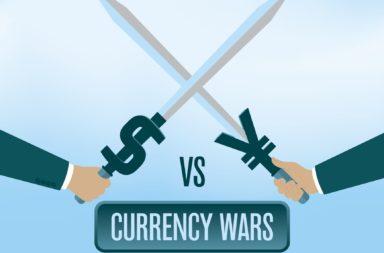 ما هي حرب العملات - الحالة التي نرى فيها عدة دول تخفض قيمة عملاتها المحلية عن قصد من أجل تحفيز اقتصادها - سوق الصرف الأجنبي
