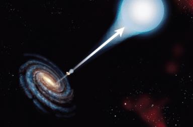 النجوم فائقة السرعة العثور على نجم مُندفع من مركز مجرتنا وهو الأسرع من نوعه على الإطلاق نجم ذو سرعة عالية يندفع من مركز مجرة درب التبانة