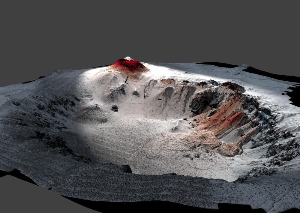 ماذا يحدث إذا انفجر بركان تحت سطح البحر ؟