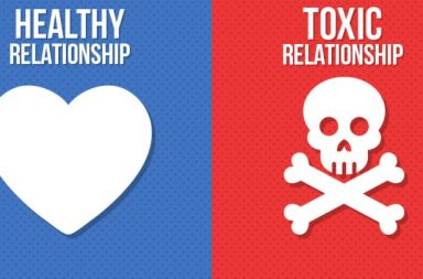5 علامات تدل على أنك في علاقة سامة - التعرض للإساءة أو الإيذاء الجسدي أو العاطفي - إيذاء الآخر دون وعي - الغيرة السلبية والعدوانية