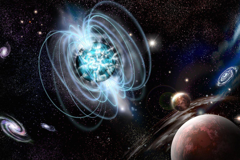 أخيرا توصلنا إلى رؤية راسخة عن مصدر أقوى المغانط في الكون