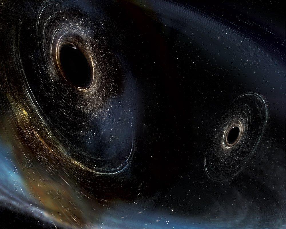 اكتشاف ست موجات جاذبية جديدة خلال ستة أشهر فقط!