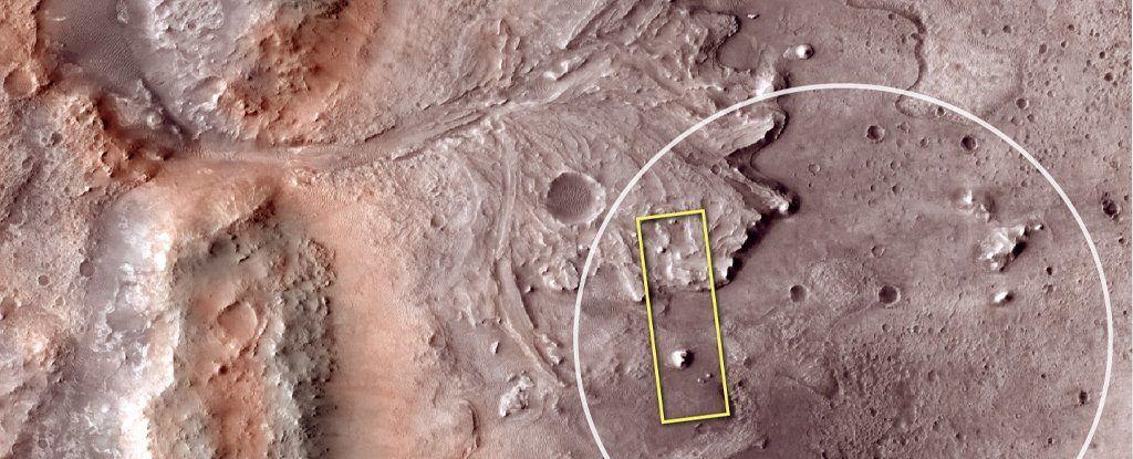 البحث عن حياة في البحيرة القديمة على المريخ