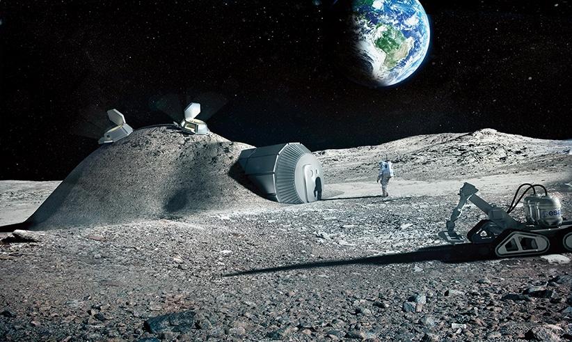 استصلاح القمر مفتاح غزو النظام الشمسي