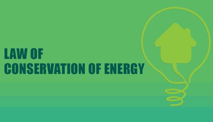 قانون حفظ الطاقة