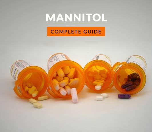 مانيتول: الاستخدام والجرعة والآثار الجانبية والتحذيرات