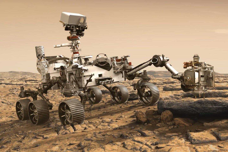 البحث عن الحياة على المريخ في عينات المركبة بيرسيفيرانس