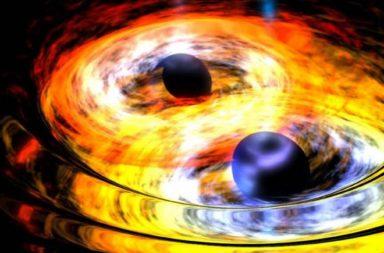 اكتشاف أكبر تصادم لثقب أسود على الإطلاق - اصطدم ثقبان أسودان ضخمان وكونا كتلة واحدة - أكبر ثقب أسود مكتشف - ثقوب سوداء فائقة الكتلة