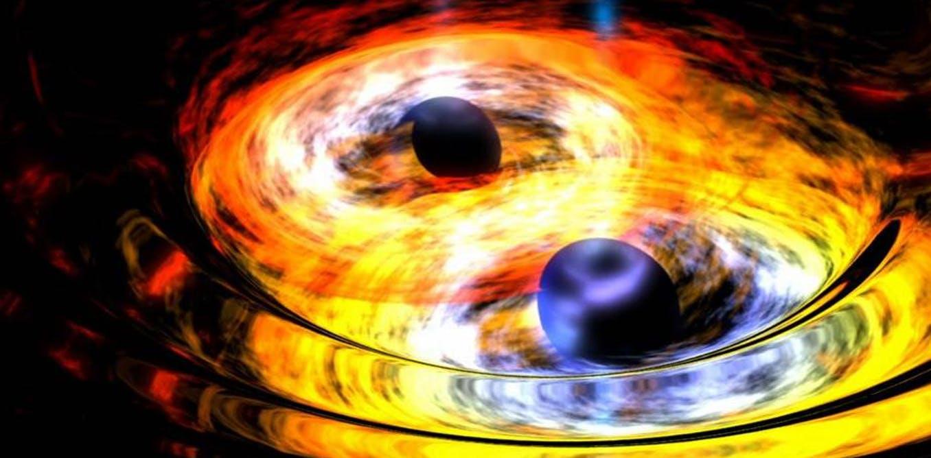 اكتشاف أكبر تصادم لثقب أسود على الإطلاق