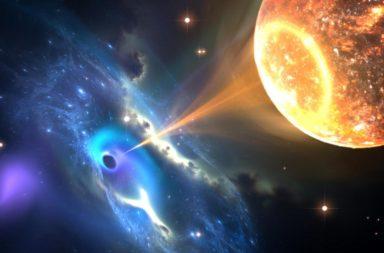 تأكيد التصادمات الحاصلة بين النجوم النيوترونية والثقوب السوداء - رصد العلماء تصادم بين ثقب أسود ونجم نيوتروني وما نتج عنه من الأمواج الثقالية