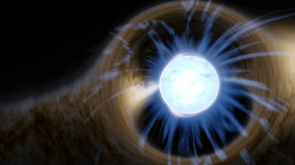 نجم نيوتروني لامع يسمح للفلكيين بإلقاء نظرة على مكوناته الداخلية