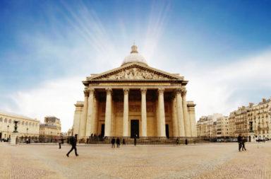 أحد أفضل المعالم الرومانية القديمة الأثرية المحفوظة - المعلم الروماني الأثري الذي تحول إلى كنيسة مسيحية تسمى سانتا ماريا ديلا روتوندا - البانثيون