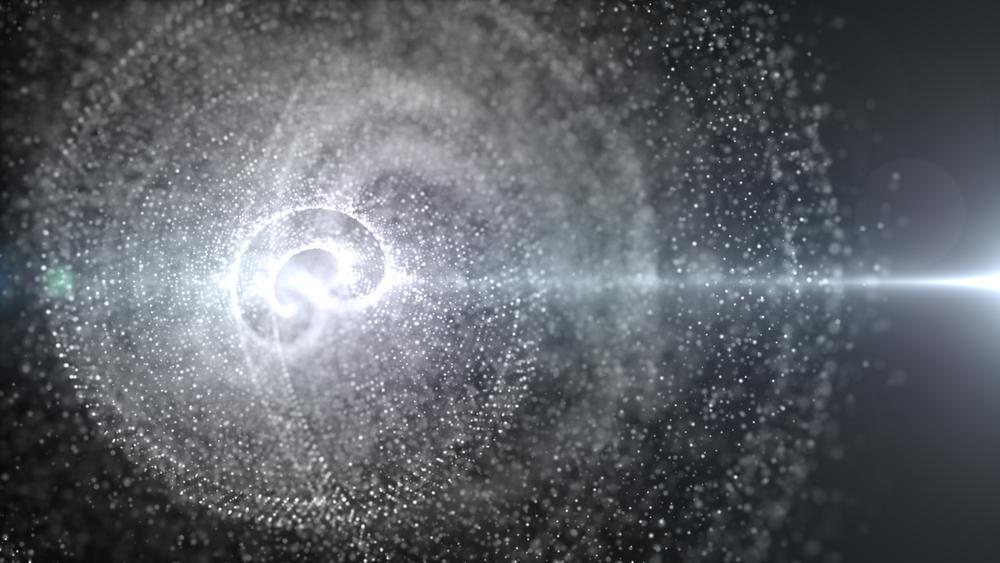 اكتشاف مرشح جديد مميز لتمثيل المادة المظلمة - المادة المظلمة في بدايات عمر الكون المظلمة التي تلت الانفجار العظيم - النموذج المعياري لفيزياء الجسيمات