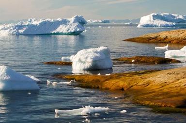 ذوبان الصفائح الجليدية قبل 14,600 سنة أدى إلى ارتفاع مستوى مياه البحار 10 أضعاف المعدل الحالي - ارتفاع مستوى سطح البحر نتيجة ذوبان الجليد