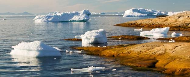 ذوبان الصفائح الجليدية قبل 14,600 سنة رفع مستوى مياه البحار 10 أضعاف المعدل الحالي