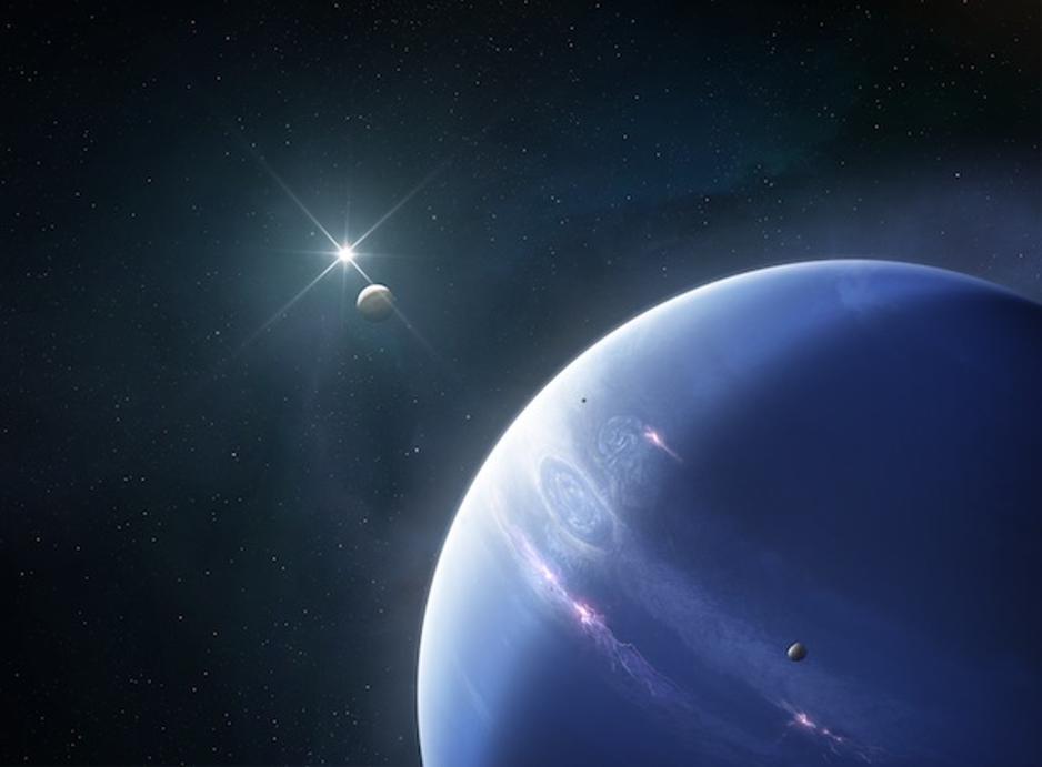 ظاهرة غريبة تحدث داخل كوكب نيبتون