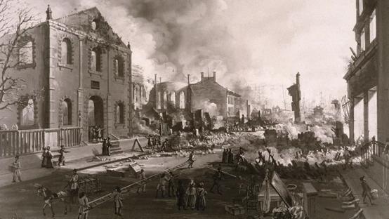 سبعة حرائق غيرت مجرى التاريخ - حرائق تاريخية أدت إلى إحداث تغيرات جوهرية في أنماط السكان والبنية التحتية ومسار الأحداث العالمية