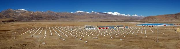 مصفوفة المستشعرات الأرضية في التبت